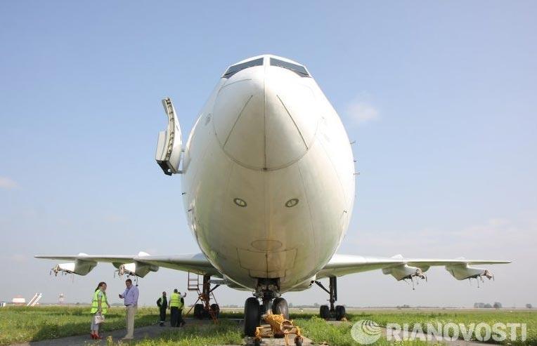 Ил-86 в Толмачево