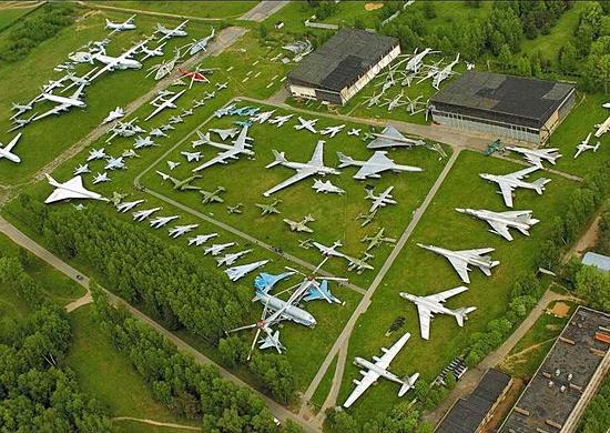 Музей ВВС в Монино Фото с сайта function.mil.ru