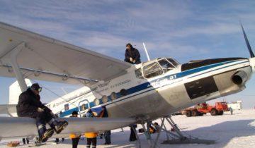 Ан-3Т на Южном полюс