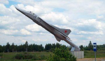 Памятник МиГ-23БК в п.Белозерский