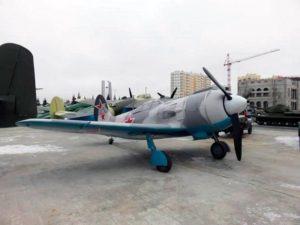 Ла-5ФН в Музее военной техники УГМК